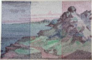"""paysage français, """"castel vendon"""""""